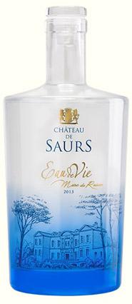 Eau de vie de Marc de Raisin, Château de Saurs / © DR